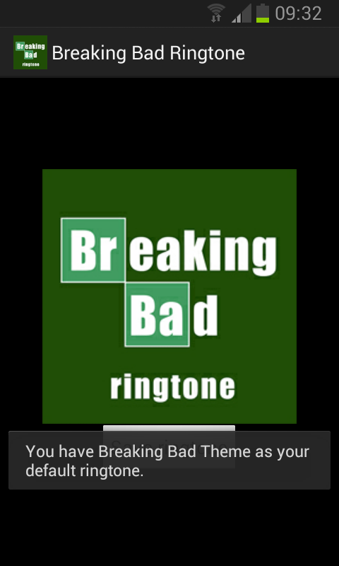 breaking bad writing app
