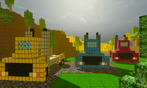 【免費賽車遊戲App】Monstertruck Craft block Race-APP點子
