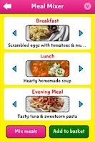 Screenshot of Change4Life Smart Recipes