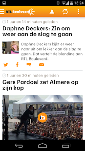 RTL Nieuws mobile- screenshot thumbnail