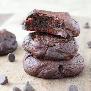 Quadruple Chocolate Pudding Cookies.