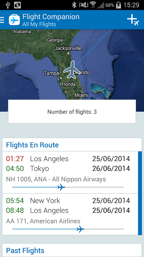The Flight Tracker Free- screenshot