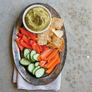 Split Pea Hummus.