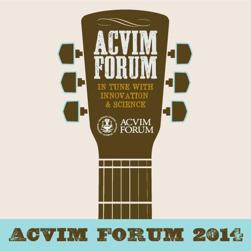 2014 ACVIM Forum 醫療 App LOGO-APP試玩