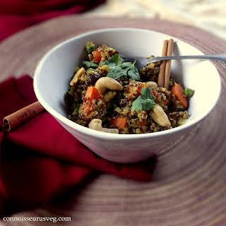 Quinoa Biryani.