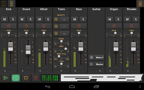 Audio Evolution Mobile DEMO- screenshot thumbnail