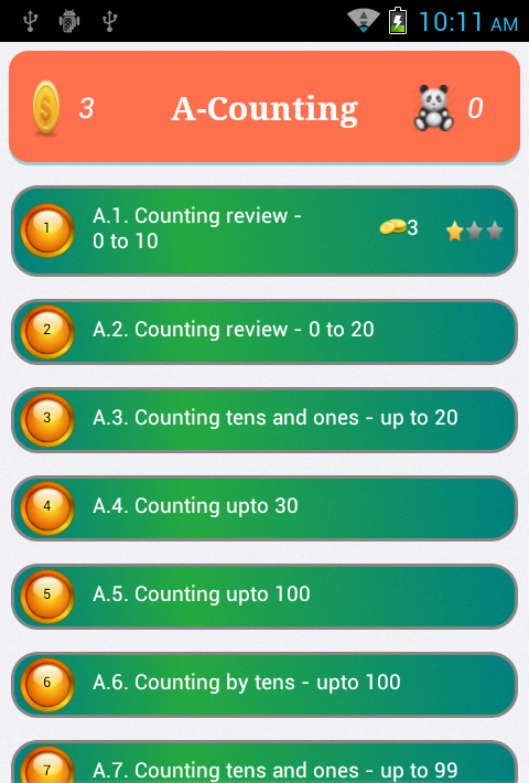 Kids Math - Educational Game and Worksheet Free - Android ...
