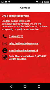Lindhout Badkamers - Programu za Android kwenye Google Play