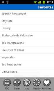 Chile - Travel Guide- screenshot thumbnail