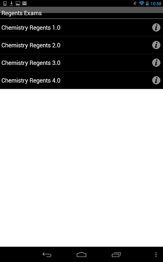 Chem Regents Buddy - screenshot