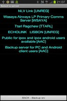 Screenshot of Ipox5 push to talk android,pc