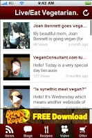 Screenshot of How To Be A Vegetarian.