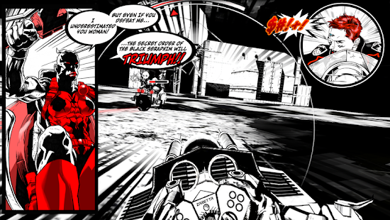 SXPD The Comicbook Game Hybrid Screenshot 12