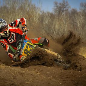 83 by Kenton Knutson - Sports & Fitness Motorsports ( motocross, dust, motorcycle, mx, dirt,  )