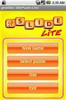 Screenshot of gSlide (Lite)