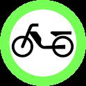 Führerschein Mofa logo