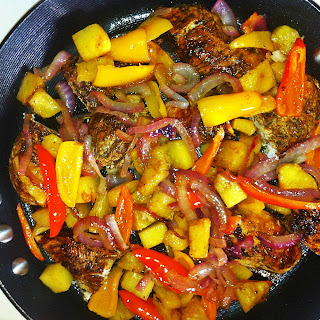 Pineapple Jerk Chicken