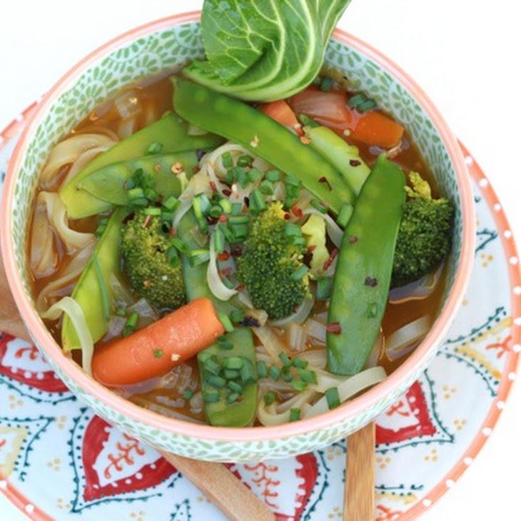 Veggie Pho (Vietnamese Noodle Soup)