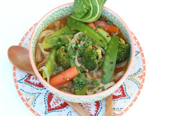 Veggie Pho (Vietnamese Noodle Soup) Recipe