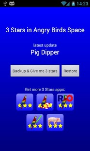 3 Stars in Birds Space - screenshot thumbnail