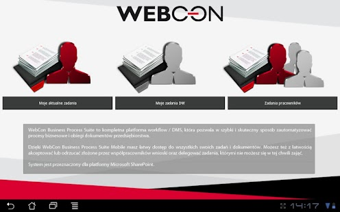 WEBCON BPS Mobile - screenshot thumbnail