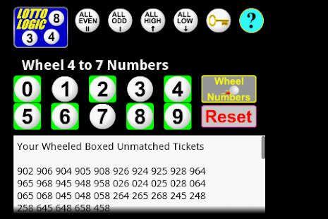 5 digit lottery combinations generator lotto