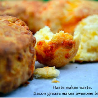 Bacon Cheddar Biscuits.