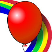 Kids game Balloons Rainbow