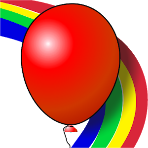 Kids game Balloons Rainbow for PC and MAC
