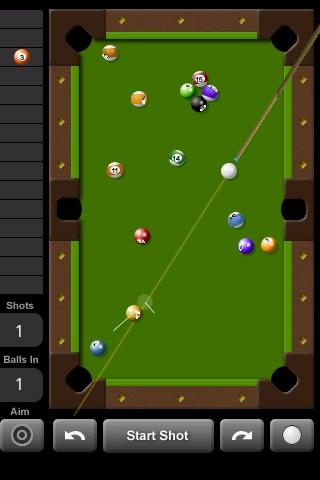 Touch Pool 2D - screenshot