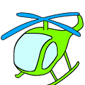Copter 3D icon