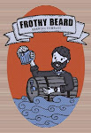 Logo of Frothy Beard Victorious Wolf