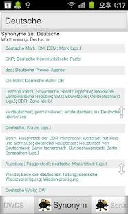 Deutsch Wörterbücher - screenshot thumbnail