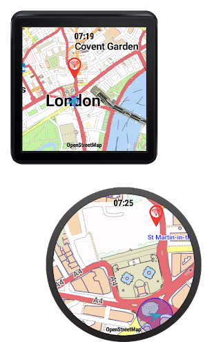 CityMaps for Android Wear