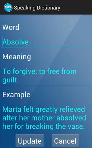 【免費書籍App】Speaking Dictionary-APP點子