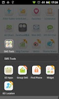 Screenshot of GO SMS Group sms plug-in 10