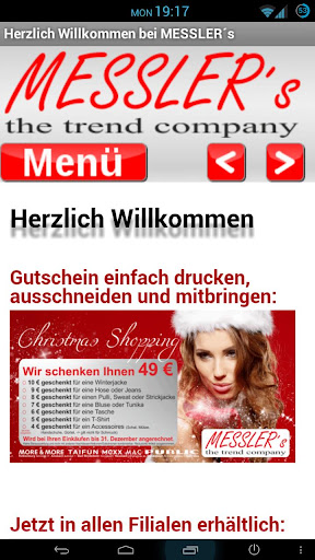 MESSLER´s the trend company