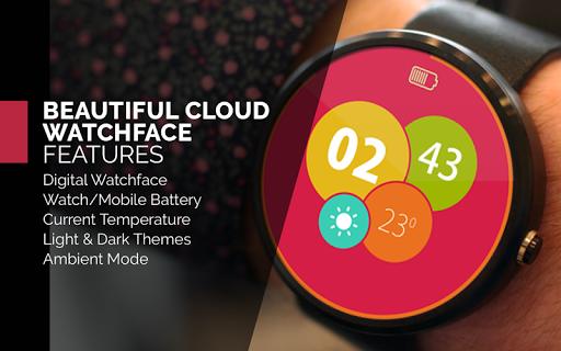 Beautiful Cloud WatchFace Free