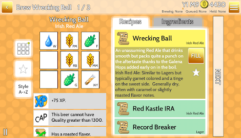Fiz : Brewery Management Game Screenshot 18