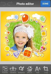 Kids Photo Frames & Stickers - screenshot thumbnail