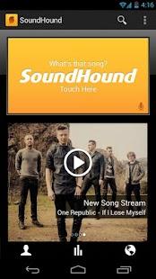 برنامه شناسایی آهنگ ها SoundHound ∞ v5.5.1