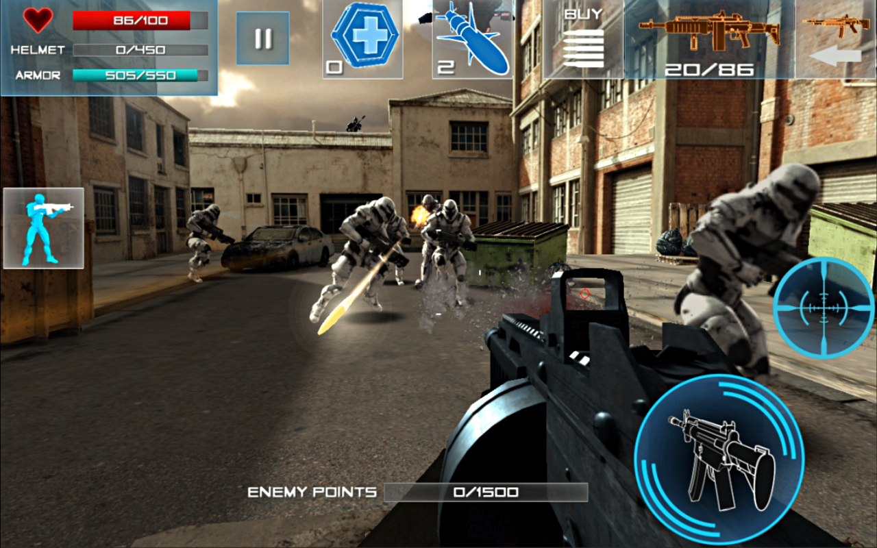 Enemy Strike- screenshot