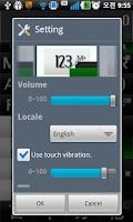 Screenshot of Voice Text Calculator