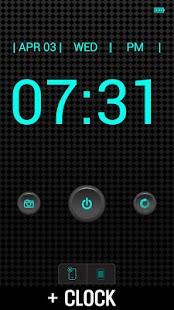 Flashlight + Clock