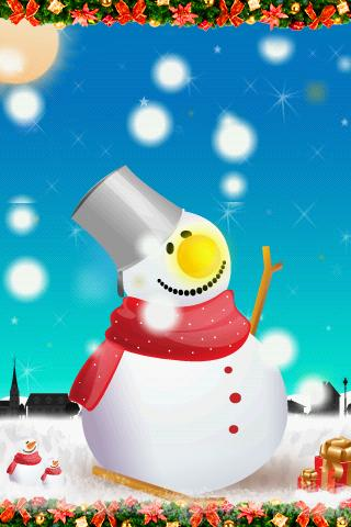 SnowMan LiveWallpaper - screenshot