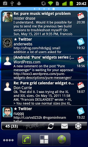 Pure Messenger Widget v2.5.1