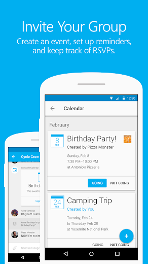 Screenshot 4 for GroupMe's Android app'
