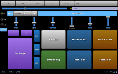 Drummer Friend Drum Machine Android Appcrawlr