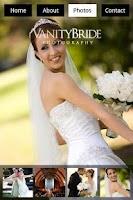 Screenshot of OC Wedding Photographer Vanity
