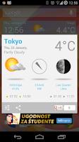 Screenshot of Weather Widget Forecast App